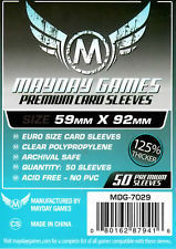 Mayday Games Euro Sized Sleeves (59mmx92mm)