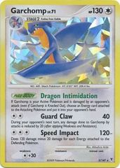 Garchomp - 5 - Promotional - Cracked Ice Holo 2009 Fall Collector's Tins Exclusive
