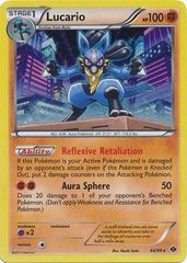Lucario - 64 - Promotional - Cosmos Holo Dark Explorers Blisters Exclusive