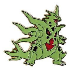 Mega Tyranitar Collector's Pin