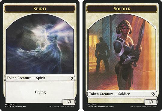 Spirit Token // Soldier Token