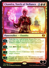 Chandra, Torch of Defiance - Kaladesh Prerelease Promo