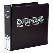 Ultra Pro Black Collectors Album 3