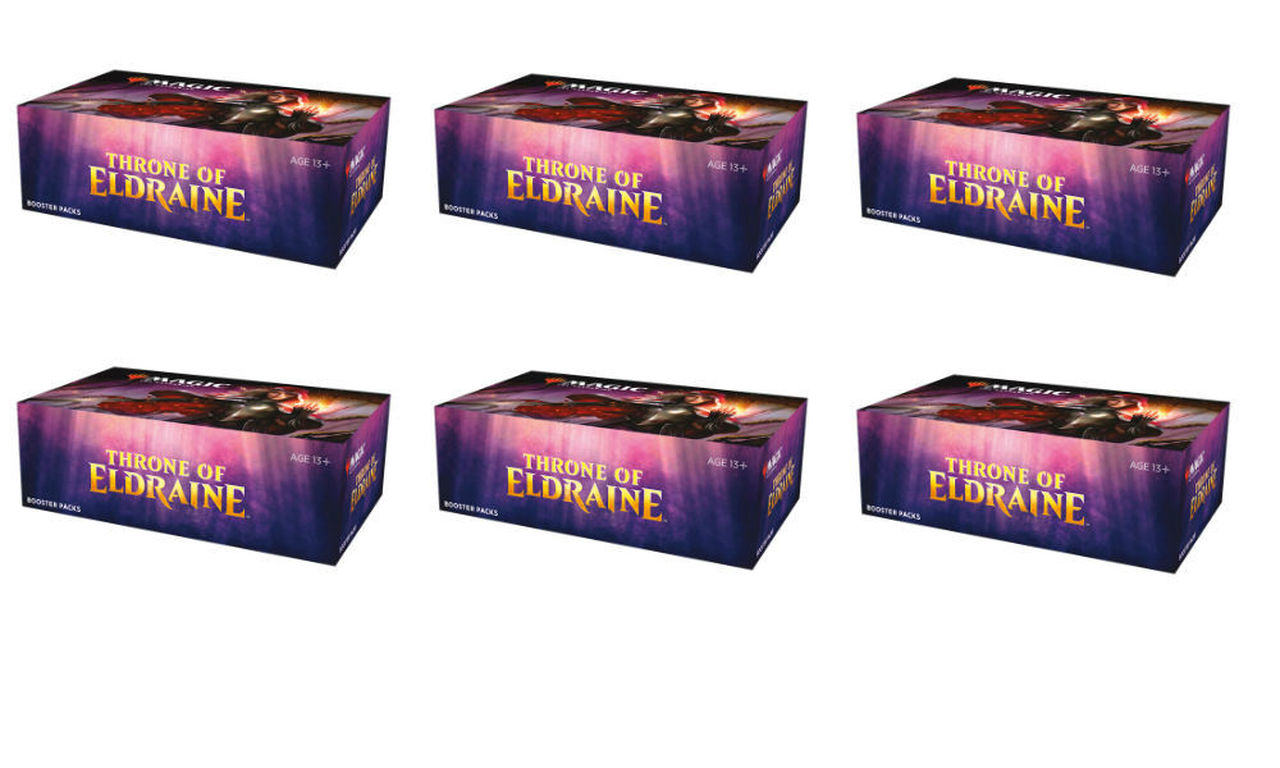 Throne of Eldraine Booster Case - No purchase promos