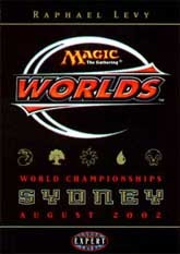 2002 Raphael Levy World Champ Deck