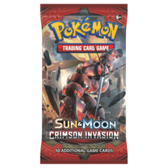 Pokemon Sun & Moon - Crimson Invasion Booster Pack