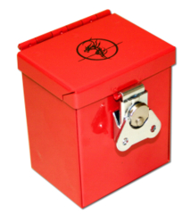 Steel Commander Deck Box - Red
