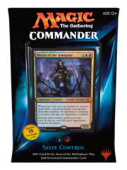 Commander 2015: Blue/Red Deck - Seize Control (U/R)