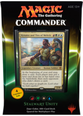 Commander 2016 Deck - Stalwart Unity (Red/Green/White/Blue)