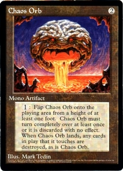 Chaos Orb - Oversized Promo