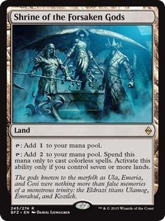 Shrine of the Forsaken Gods - Foil