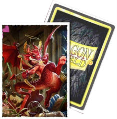 Dragon Shield 100ct Standard Sleeves - Matte Valentine Dragon