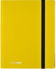 Ultra Pro 9-Pocket Eclipse Pro-Binder - Lemon Yellow