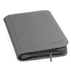 Ultimate Guard 4-Pocket Zipfolio XenoSkin - Grey