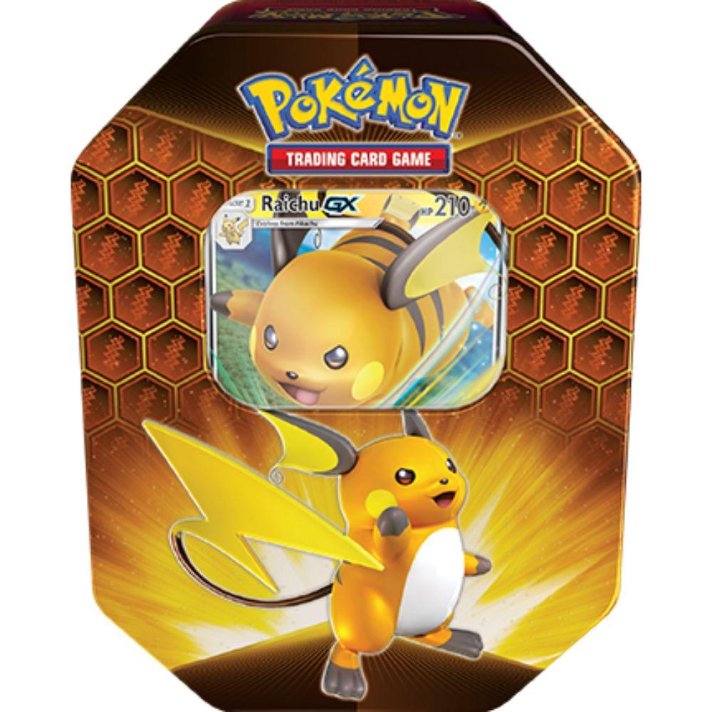 Hidden Fates Tin - Raichu-GX (Ships Sep 6)