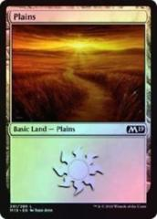 Core 2019 Foil Plains 261/280- Bundle of 10