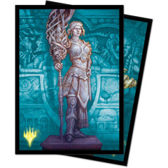 Ultra Pro MTG 100ct Theros Beyond Death Standard Sleeves - Elspeth, Sun's Nemesis Alternate Art