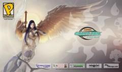 Grand Prix Chicago 2009 Ltd. Ed. Playmat (Akroma, Angel of Wrath)
