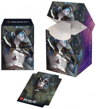 Ultra Pro Throne of Eldraine 100+ Deck Box - Oko, Thief of Crowns
