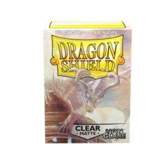 Dragon Shield 100ct Standard Sleeves - Matte Non-Glare Clear