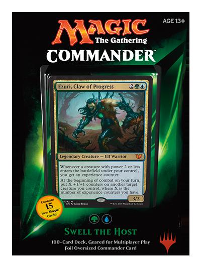 Commander 2015: Green/Blue Deck - Swell the Host (U/G)