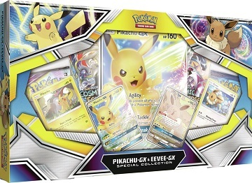 Pikachu-GX and Eevee-GX Collection