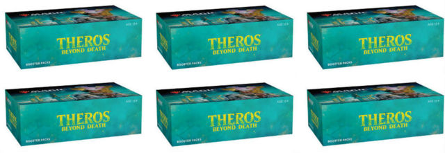Theros Beyond Death Draft Booster Case