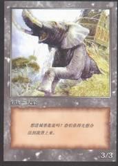 Chinese 10th Anniversary Elephant Token