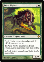 Feral Hydra - Oversized Promo