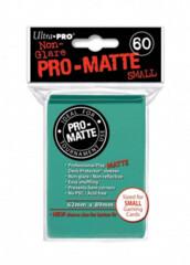 Ultra Pro Pro-Matte Small Deck Protectors - Aqua (60ct)