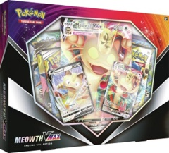 Pokemon V Teaser Box Meowth VMAX Box