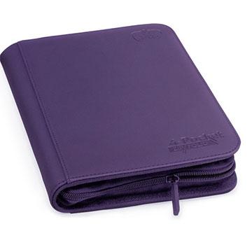 Ultimate Guard 4-Pocket Zipfolio XenoSkin - Purple