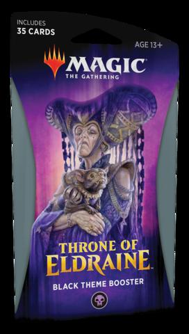 Throne of Eldraine Theme Booster - Black