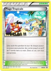 Tropical Beach - BW28 - French Worlds 2011 Promotional