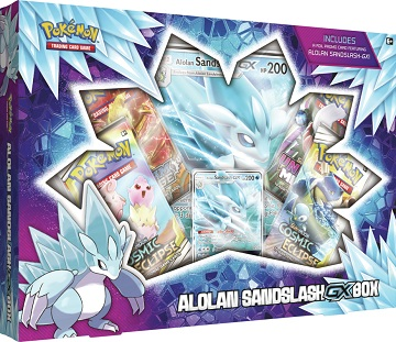 Pokemon Alolan Sandslash-GX Box (Ships Jan 24)