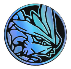 Pokemon White Kyurem Collectible Coin (Blue Rainbow Mirror Holofoil)