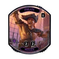 Ultra Pro - Relic Tokens: Lineage Collection - Pirate (Menace) - Foil