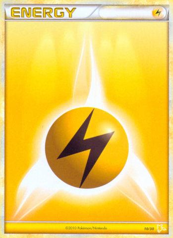 Lightning Energy - 10/30 - XY Trainer Kit (Raichu)