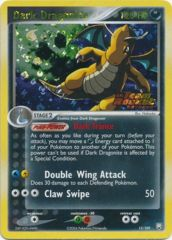 Dark Dragonite - 15/109 - Rare - Reverse Holo