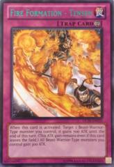 Fire Formation - Tensen - Green - DL18-EN020 - Rare - Unlimited Edition