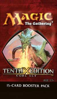 10th Edition Booster Pack