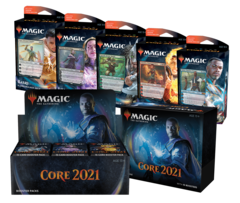 Core Set 2021 Combo Pack (Contains A Draft Booster box, Bundle, and all 5 Planeswalker decks!)