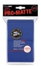 Ultra Pro PRO-Matte 100ct Standard Deck Protectors - Blue