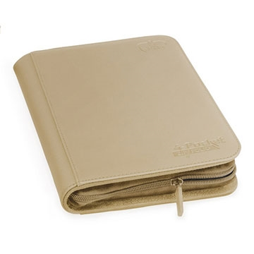 Ultimate Guard 4-Pocket Zipfolio XenoSkin - Sand