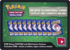 Sun & Moon Team Up Torrential Cannon Theme Deck Unused Code Card (Pokemon TCGO)