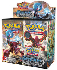 XY - Steam Siege Booster Box