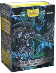 Dragon Shield 100ct Standard Sleeves - Matte King Athromark III