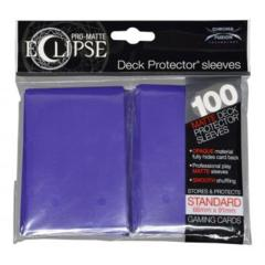 Ultra Pro Pro-Matte Eclipse 100ct Standard Sleeves - Royal Purple