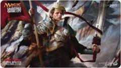 Grand Prix Quebec City 2015 Ltd. Ed. Playmat (Veteran Warleader)