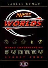 2002 Carlos Romao World Champ Deck